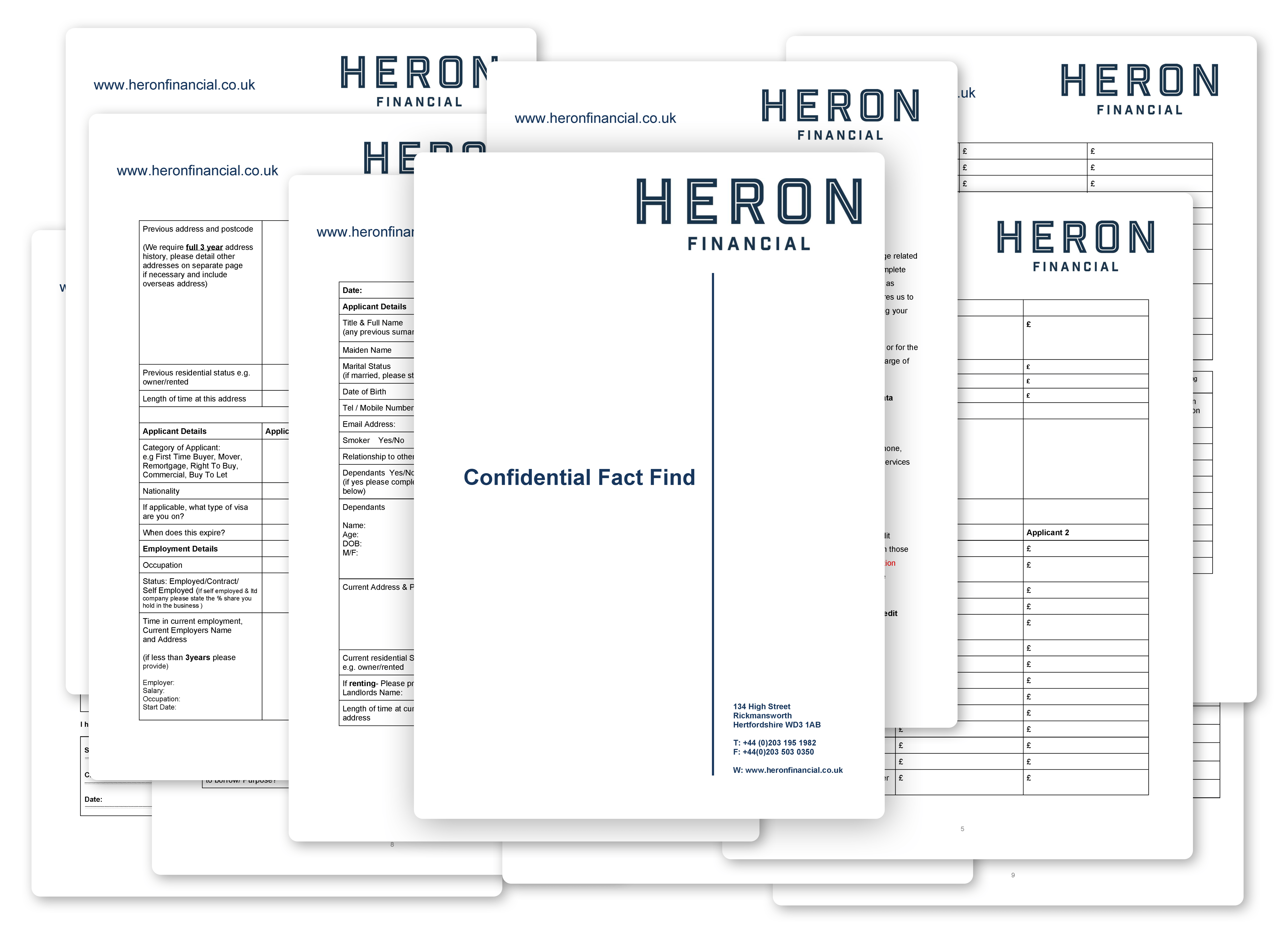 Heron - Mortgage Application Form